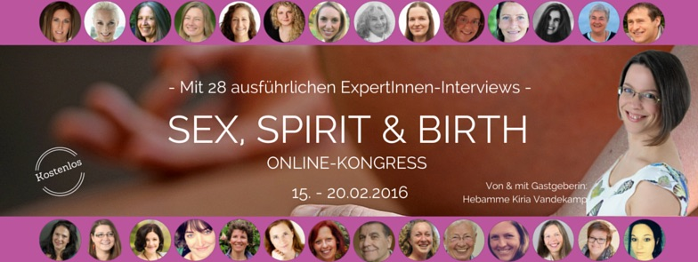 Online Kongress SEX-SPIRIT-BIRTH Referenten