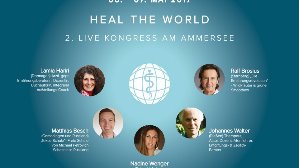2. LIVE Heal the World Kongress